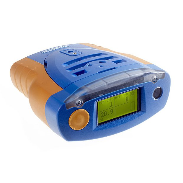 Crowcon Tetra Personal Multigas Monitor with optional internal pump