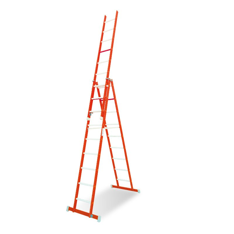 Sofamel Double Rung Extendable Ladder