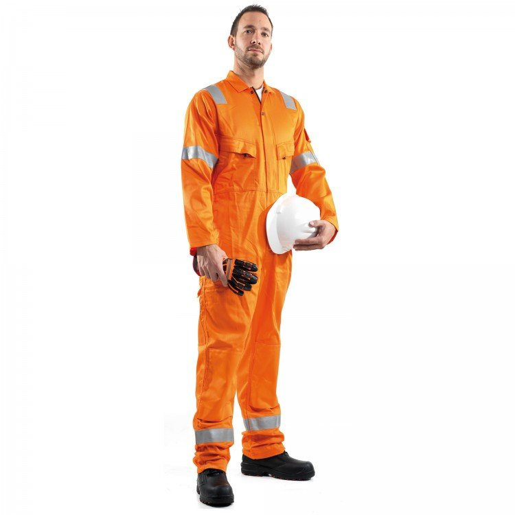 ROOTS FLAMEBUSTER NORDIC 'KNEE POCKETS' COVERALL - Class 1, 8.1 CAL/CM²