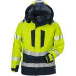 FRISTADS Gore-Tex Flamestat Jacket Hi-Vis cl 3 4095 GXE Yellow/Navy – Class 2, 49.1 cal/cm²