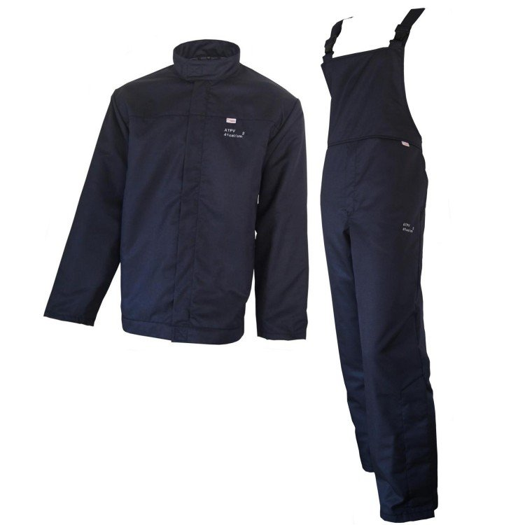 BSD POWER ARC FLASH JACKET AND BIB OVERALL - 41.0 CAL/CM²