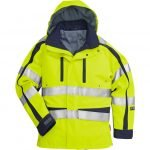 FRISTADS GORE-TEX Jacket cl 3 4089 GXH Hi-Vis Yellow/Navy – Class 2, 29.6 cal/cm<sup>2</sup>