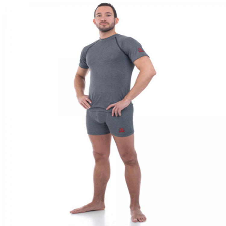 ROOTS ARC RATED UNDERWEAR SHIRT SHORT SLEEVE AND BOXER - 4.8 CAL/CM²